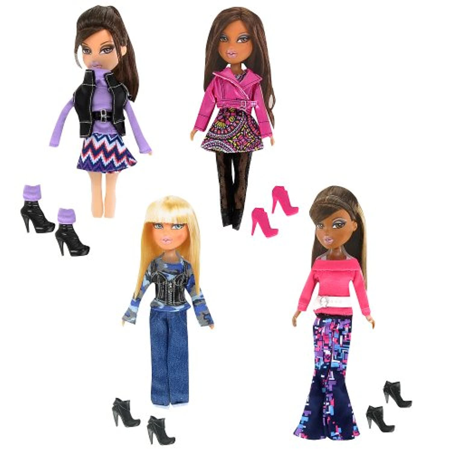 Exclusive Bratz So Stylish 4-Piece Fashion Pack by MGA Entertainment [並行輸入品]