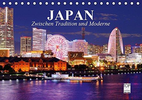Japan. Zwischen Tradition und Moderne (Tischkalender 2019 DIN A5 quer): Japans pulsierendes Leben inmitten von Tradition und Moderne (Monatskalender, 14 Seiten )
