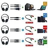 G330 ゲーミングヘッドセット マイクON/OFF可 変換アダプタ付き LED 密閉型 PS4 Switch PC 対応 Dolbyサラウンドサウンド 高集音マイク 高音質
