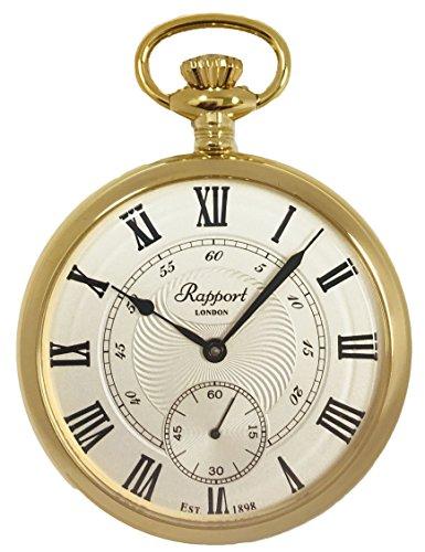 [ラポート]RAPPORT 懐中時計 手巻き スモールセコンド PW22 【正規輸入品】