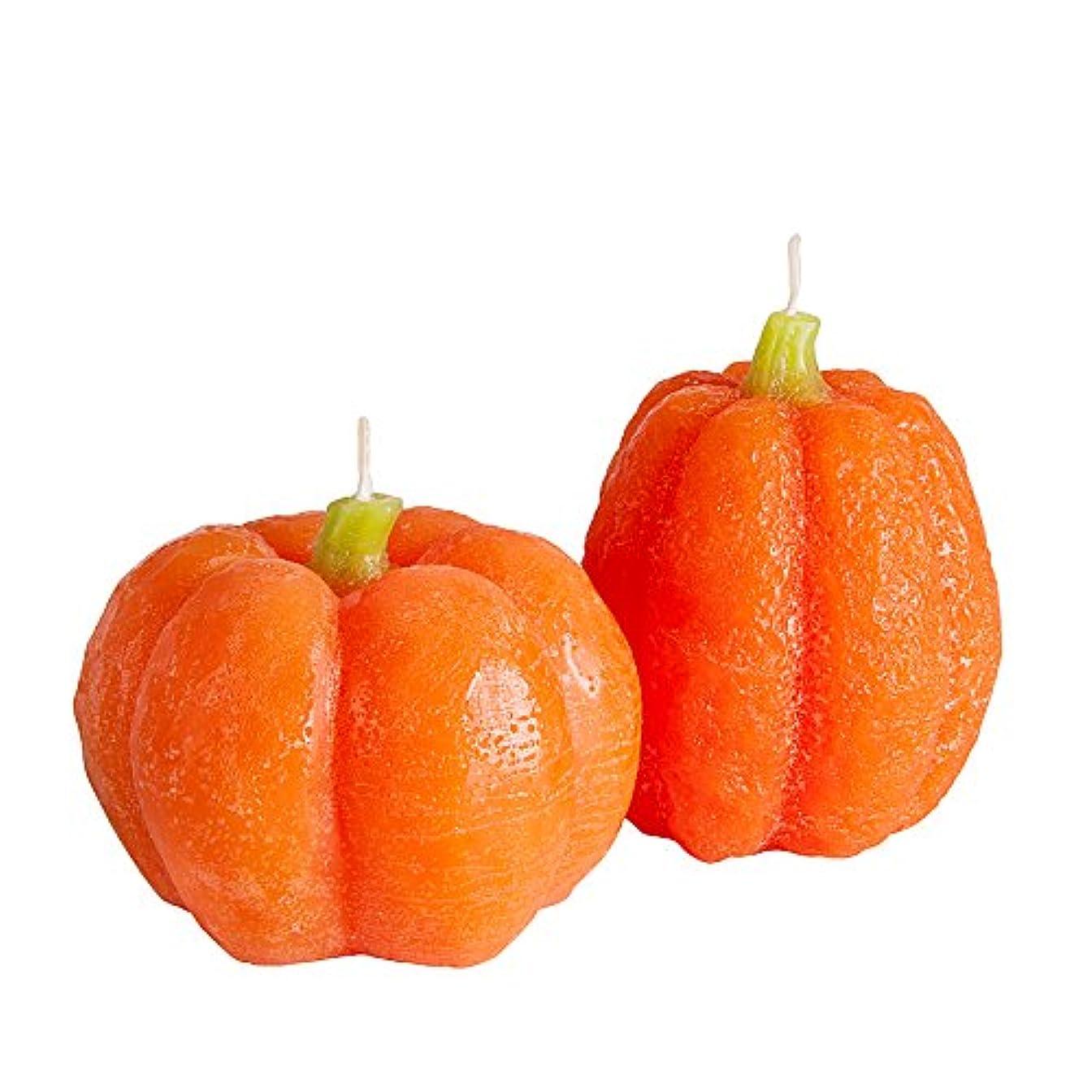 住む病気だと思う提唱するCandle Atelierハンドメイドピラーキャンドル Cast Large Pumpkin 2F1-PU10VMX-0SP