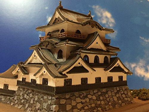 日本100名城 彦根城 天守閣 お城 模型 ジオラマ完成品 A5サイズ