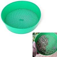 Composy土壌ストーンメッシュガーデニングツールのPLAT会社-SEEDS Hacloserプラスチックガーデンふるい謎グリーン