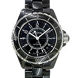 シャネル CHANEL J12 メンズ 腕時計 H0685 38mm セラミック 黒 ブラック オートマ 自動巻き ウォッチ【中古】 90041367 [並行輸入品]
