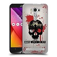 オフィシャルAMC The Walking Dead スカル シルエット ハードバックケース Zenfone 2 Laser ZE550KL