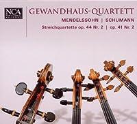 Mendelssohn / Schumann: Streichquartette Op. 44,2 / Op. 41,2