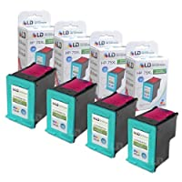 LD ? Remanufactured Replacement Ink Cartridges for Hewlett Packard CB338WN (HP 75XL) High-Yield Tri-Color (4 Pack) [並行輸入品]