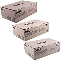 Dell c815K、d593K、f479K標準トナーカートリッジセット色のみ(CMY)