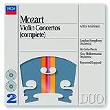 Mozart: Violin Concertos Nos. 1/5 etc. (2 CDs)