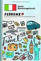 Florenz Reisetagebuch: Kinder Reise Aktivitaetsbuch zum Ausfuellen, Eintragen, Malen, Einkleben A5 - Ferien unterwegs Tagebuch zum Selberschreiben -  Urlaubstagebuch Journal fuer Maedchen, Jungen
