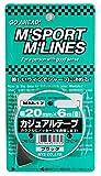 MYS カジュアルテープ ブラック(20mm×6m) MM-17