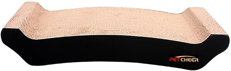 キャットタワーベッドマット猫爪研ぎ段ボール爪磨きソファ猫おもちゃ用品ベッド・ソファ (拱橋)