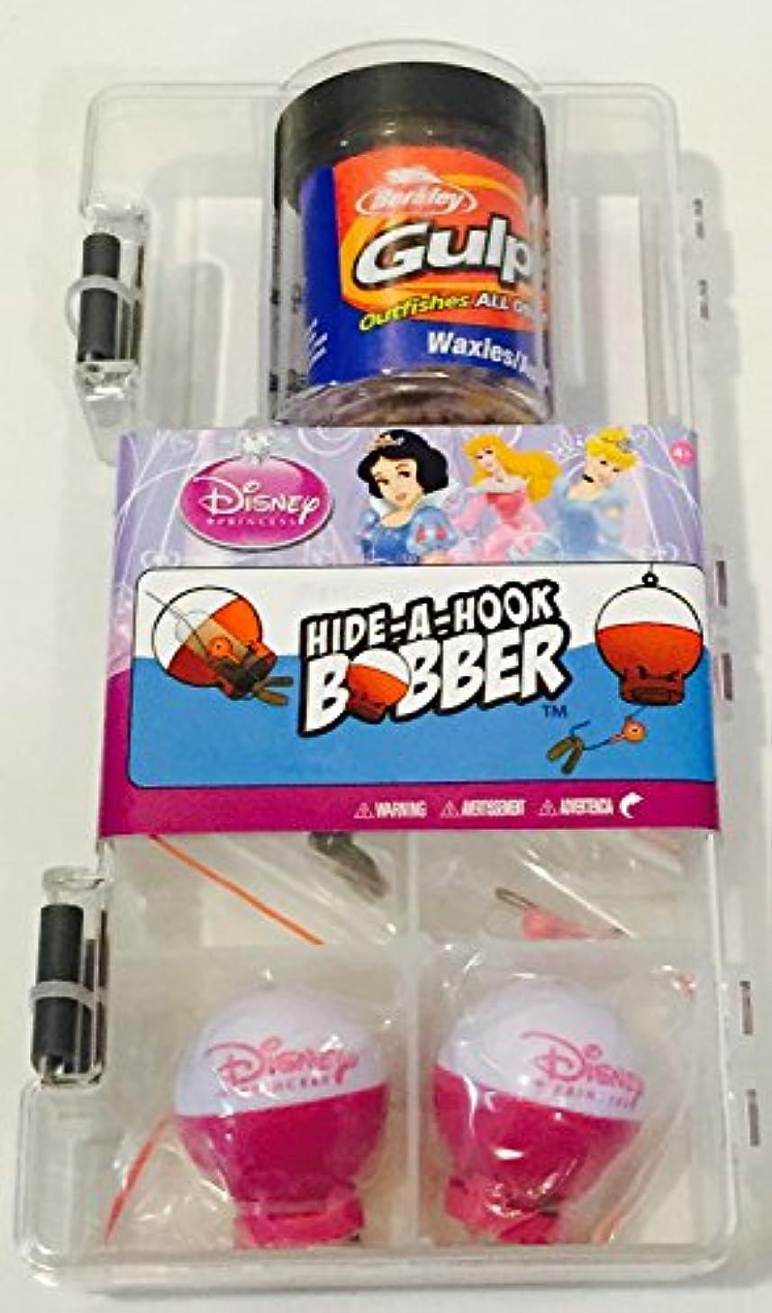 シェア振り子映画Shakespeare Disney Princess Hide-A-Hook Bobber Fishing Accessory Kit