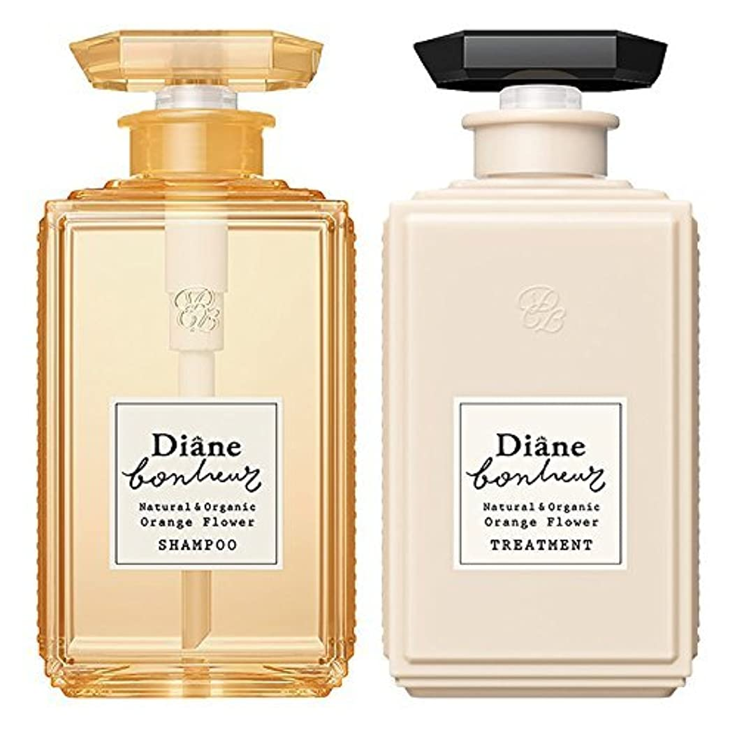 かんがい動かない付属品ダイアン ボヌール オレンジフラワーの香り モイストリラックス シャンプー & トリートメント セット 500ml×2