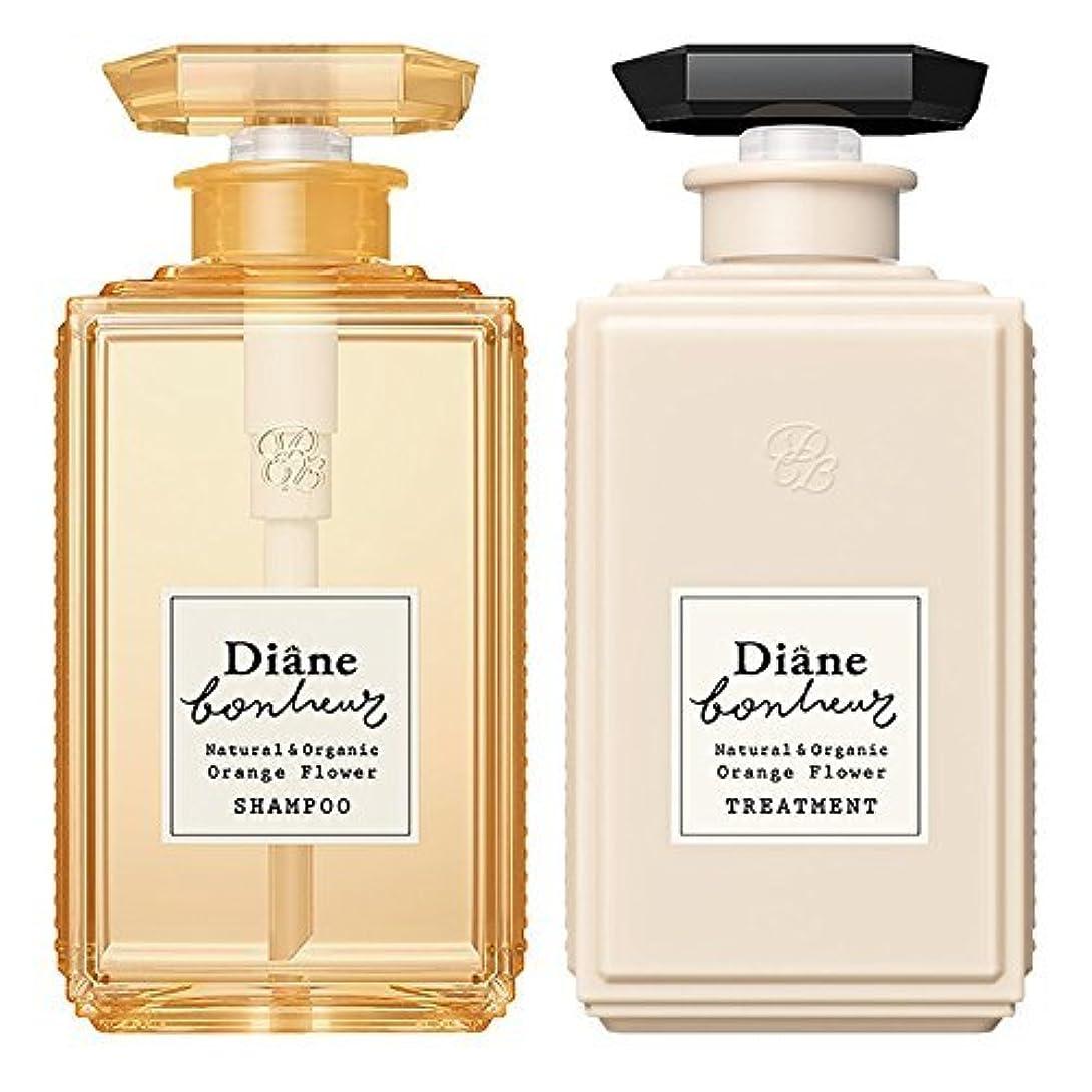 ダイアン ボヌール オレンジフラワーの香り モイストリラックス シャンプー & トリートメント セット 500ml×2