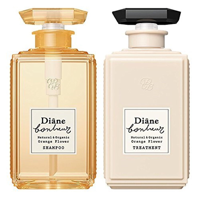 熟練した感性自伝ダイアン ボヌール オレンジフラワーの香り モイストリラックス シャンプー & トリートメント セット 500ml×2