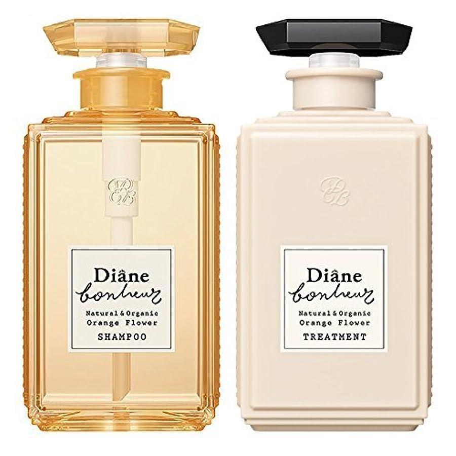 無臭カレッジ換気するダイアン ボヌール オレンジフラワーの香り モイストリラックス シャンプー & トリートメント セット 500ml×2