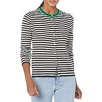 J.Crew Women's Stripped Cardigan Sweater