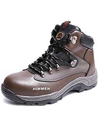 [Placck安全] 安全靴 作業靴 ハイカットセーフティシューズ 短靴 春夏秋冬 防寒 黒 24cm-29cm