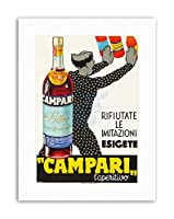 Campari Laperitivo. Ca. 1934 Home Decor Canvas Art Print