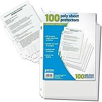 Better Office製品シートプロテクター、100カウント