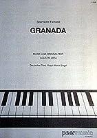 Augustin Lara: Granada. Partitions pour Piano et Chant(Symboles d'Accords)