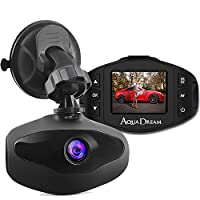 AQUA DREAM (アクアドリーム) ドライブレコーダー Sony Lens 解像度 1080P Full HD 1300万画素 常時録画 ループ録画 衝撃録画 駐車監視 AQ-DR001