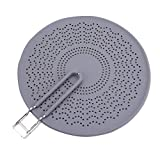Silicone Splatter Screen, Frying Pan with Silicone Stops Splatter High Heat Resistant Strainer