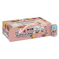 Sanpellegrino Prickly Pear and Orange Sparkling Fruit Beverage, 11.15 fl oz. Cans (24 Count)(並行輸入商品)