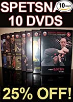 Hand to Hand Combat DVDs - Russian Martial Arts Systema Training - 10 DVD set - Street Self-Defense Instructional Videos