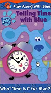 Blue's Clues - Telling Time With Blue [VHS] [Import]