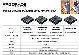 ProGrade Digital (プログレードデジタル) USB3.1 Gen2対応 ダブルスロット カードリーダー 国内正規品 (SD x2) 画像