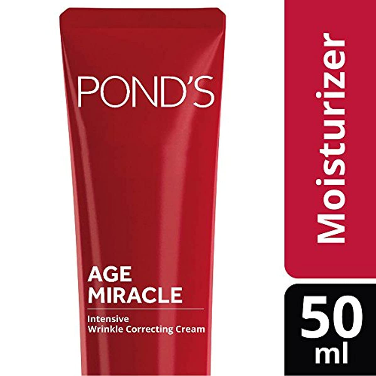 すなわち注ぎます安定したPond's Age Miracle Intensive Wrinkle Correcting Oil in Cream, 50ml
