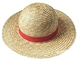 Amateras 麦わら帽子 ワンピース ONE PIECE ルフィ コスプレ 衣装 道具 ポートガス D エース 火拳のエース 帽子 オレンジ コスチューム オリジナル・ボールペン 付 (麦わら帽子) (¥ 2,150)