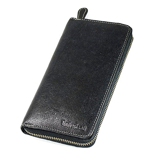 Timberland (ティンバーランド) 長財布 Zip Around Wallet D67386 ブラック