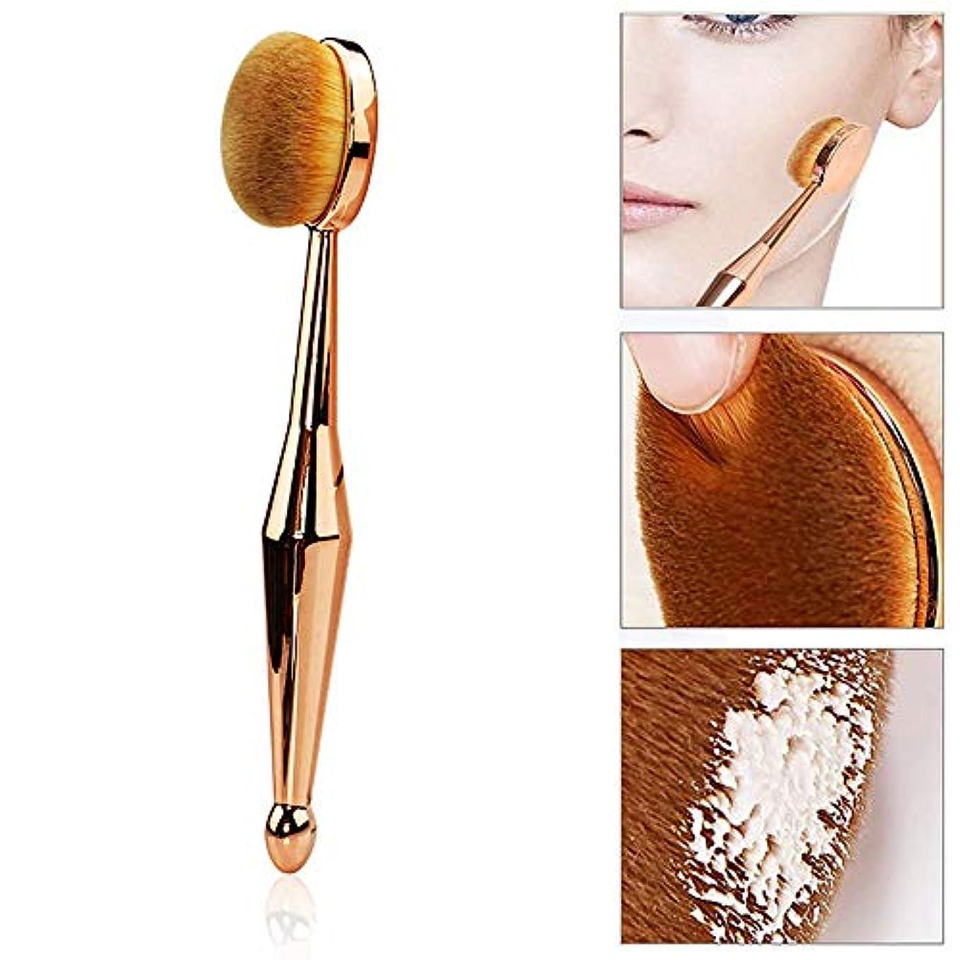 さようならアッパー仮定、想定。推測Cikoume 化粧ブラシ 化粧筆 歯ブラシ型高級繊維毛 BBクリームブラシ ァンデーションブラシ 化粧道具 パウダーブラシ フェイスブラシ 携帯便利