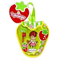 Strawberry Shortcake Mini Doll with Purse- Pink Dress