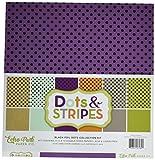 Echo Park Dots & Stripes Black Foil Collection Kit by Dots & Stripes