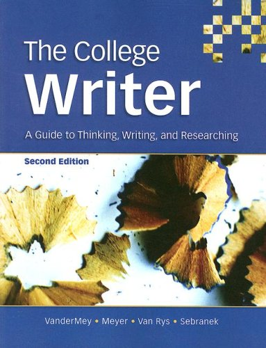 Download The College Writer 0618642056