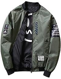 chenshiba-JP メンズカジュアルロングスリーブ軽量コート風防がよい
