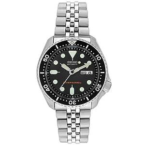 SEIKO セイコー オートマティック メンズ 腕時計 SKX007K2 (SKX007KD) 海外モデル ブラック [時計] 逆輸入品