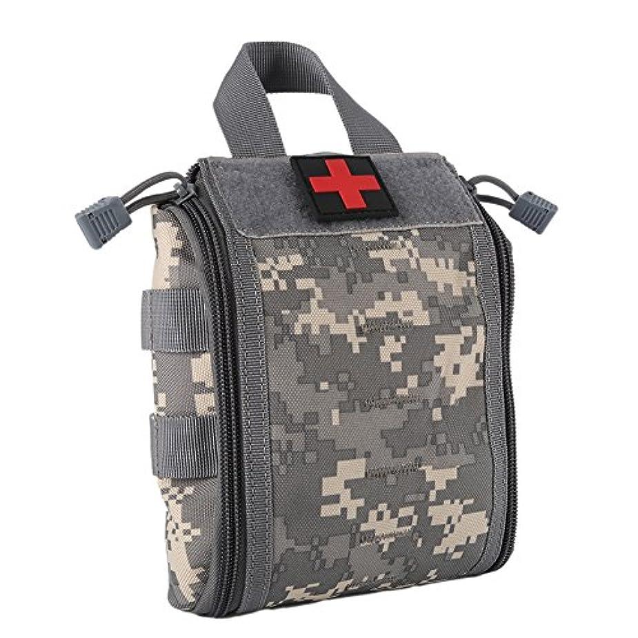仕事に行く準備ができて人柄Rip Away EMT First Aid Molleポーチ、タクティカルIFAK医療バッグミリタリーユーティリティmed Pouches EDCサバイバルキットSuit forタクティカルウエストベルトパック1000ナイロンwynex