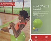 Embark Small (55 Cm) Fitness Ball w/ Pump - Lime Green by Embark