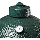 KAMaster Ceramic Damper Top for Medium Large and XLarge Big Green Egg,Dual Function Ceramic Grill Top Damper,Kamado Accessori