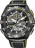 [シチズン]CITIZEN 腕時計 PROMASTER プロマスター Eco-Drive エコ・ドライブ GLOBAL LAND レーシングクロノグラフ JW0127-04E メンズ