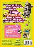 National Geographic Kids Cutest Animals Sticker Activity Book: Over 1,000 stickers! 画像