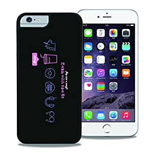 【WAYLLY】iPhone 7 PLUS/8 PLUS/6s PLUS/6 PLUS 兼用ケース, [どこでもくっつくケース] [米軍MIL衝撃吸収規格] ウェイリー 耐衝撃 カバー (JUICE)
