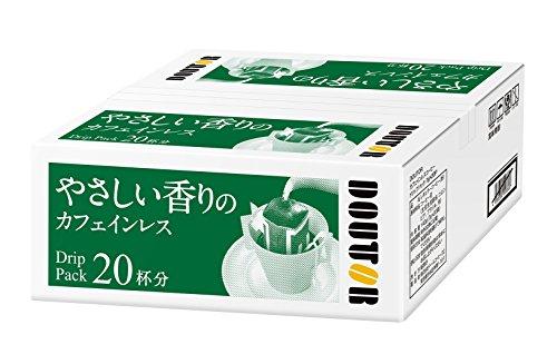 ドトールコーヒー ドリップパック やさしい香りカフェインレス 20P