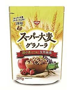 スーパー大麦 グラノーラ(日清シスコ) 200g×3袋