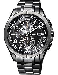 [シチズン]CITIZEN 腕時計 ATTESA アテッサ エコ・ドライブ電波時計 ダイレクトフライト AT8166-59E メンズ